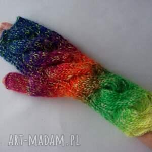 rękawiczki modne multikolor****