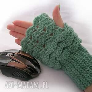 rękawiczki: Rękawiczka, ocieplacz, mitenka do pracy przy komputerze - mitenki