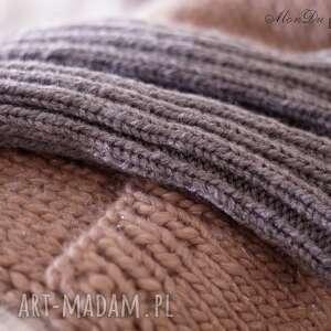 rękawki rękawiczki szare