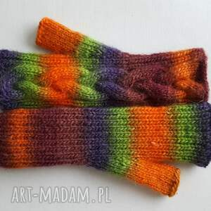 rękawiczki modne w jesiennych kolorach