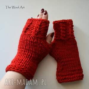 mitenki rękawiczki walentynkowe