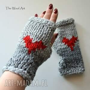 walentynki rękawiczki walentynkowe