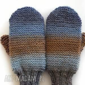 ciekawe rękawiczki wełniane