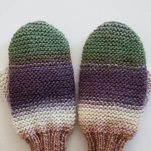 handmade rękawiczki wełniane