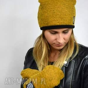 rękawiczki jednopalczatki wełniane mozga