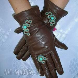 rękawiczki skóra ze skóry naturalnej