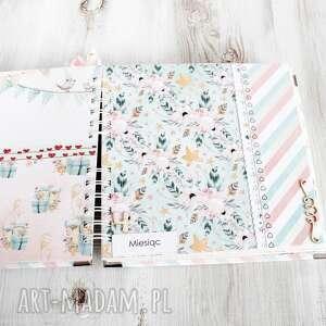 handmade scrapbooking albumy album dla dziewczynki chrzest