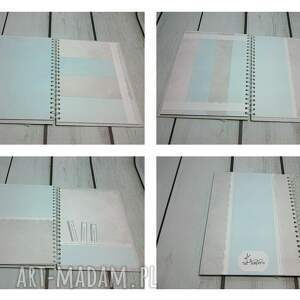 scrapbooking albumy narodziny album imienny wraz z pudełkiem