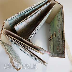 interaktywny scrapbooking albumy album hidden hinge