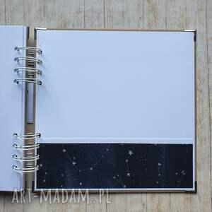 handmade scrapbooking albumy kosmos album - kosmiczna