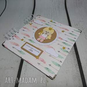 scrapbooking albumy sesja album - księżniczka