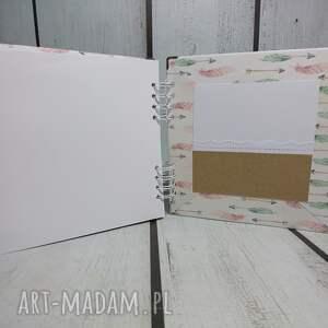 brązowe scrapbooking albumy narodziny album - księżniczka