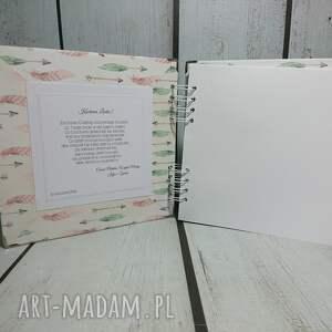 urodziny scrapbooking albumy różowe album - księżniczka