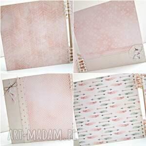 album scrapbooking albumy różowe maleństwa-różowy/25x25cm