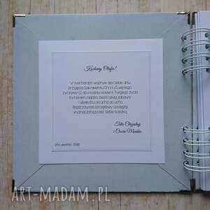 niesztampowe scrapbooking albumy anioł album - mój stróż
