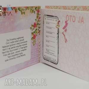 scrapbooking albumy album pamiątka chrztu świętego