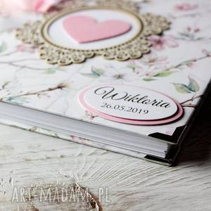 chrzest scrapbooking albumy album - pamiętnik