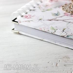 różowe scrapbooking albumy album - pamiętnik