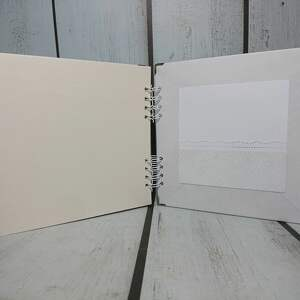 handmade scrapbooking albumy album - sowa, słonik