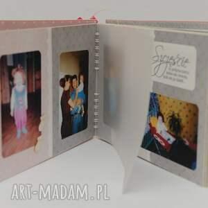 scrapbooking albumy album urodzinowy z pergaminowanymi