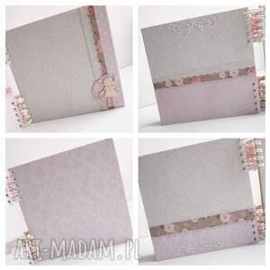 album scrapbooking albumy różowe z konikiem/20x20cm
