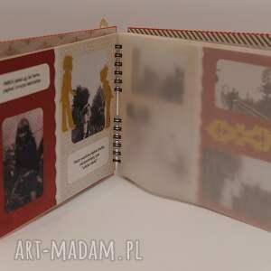 urokliwe scrapbooking albumy album z pergaminowanymi