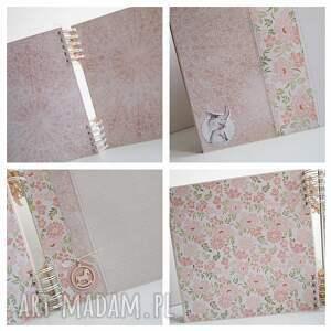handmade scrapbooking albumy album z sarenką/25x25cm