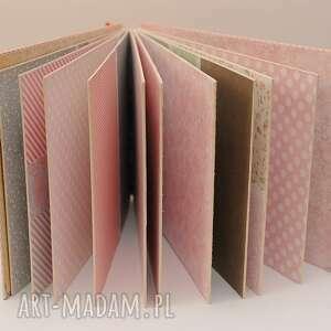 scrapbooking albumy podziękowania dla