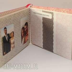 handmade scrapbooking albumy podziękowanie w podziękowaniu dla