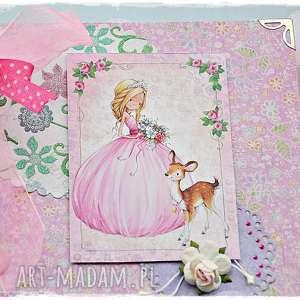 różowe scrapbooking albumy bajecznik - folder na płyty