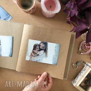 scrapbooking albumy dzień matki dla mamy - klasyczny album