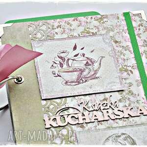 kulinarny scrapbooking albumy herbaciane róże