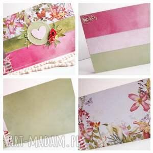 handmade scrapbooking albumy album kolorowy album/a4