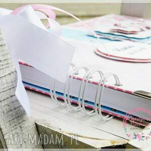 scrapbooking albumy księga gości