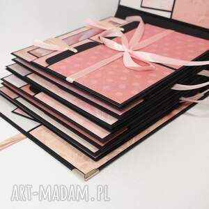 album scrapbooking albumy różowe mega