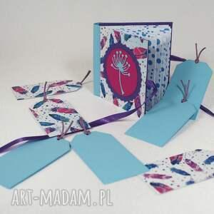 album scrapbooking albumy fioletowe mini