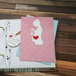 scrapbooking albumy mama pamiętnik ciążowy/będę