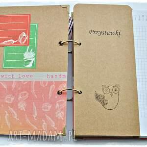 scrapbooking albumy papryka pikantny przepiśnik - notatnik