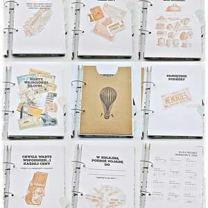 scrapbooking albumy organizer planer podróży, personalizowany