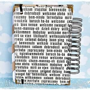 białe scrapbooking albumy planer podróży/dziennik podróży