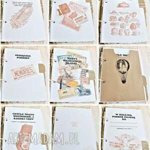 scrapbooking albumy podróżnik planer podróży/dziennik podróży