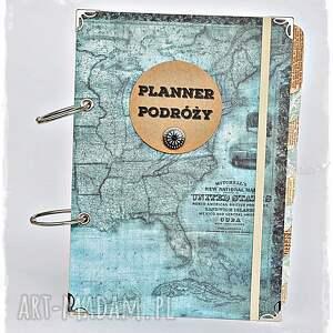 ręcznie wykonane scrapbooking albumy planner podróży - pamiętnik