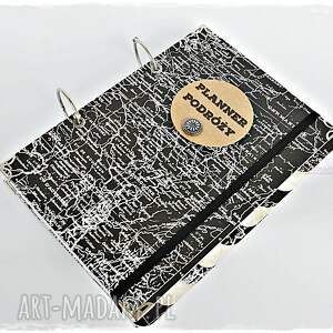 białe scrapbooking albumy podróży planner - pamiętnik