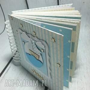 białe scrapbooking albumy prezent spersonalizowany zestaw dostosowany
