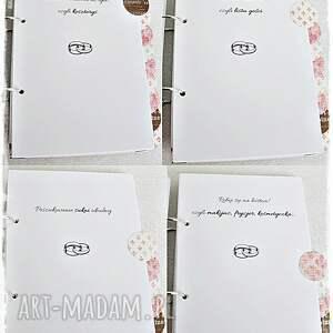 scrapbooking albumy prezent planner ślubny z twoim imieniem
