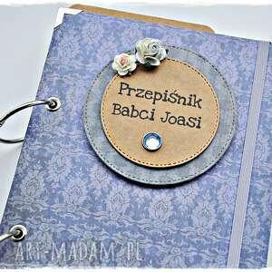 scrapbooking albumy personalizacja zestaw prezentowy na dzień babci