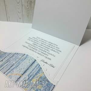 zaproszenie scrapbooking kartki czerwone ahoj na świecie mały marynarzu!