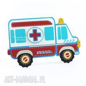 ręcznie zrobione zdrowie ambulans - kartka