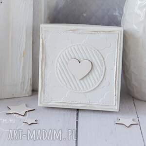 złote scrapbooking kartki aniołek stróż z kartką w mini