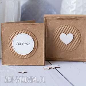 od serca scrapbooking kartki złote aniołek stróż z kartką w mini